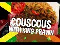 Vegetable Couscous with King prawn | Chef Ricardo Cooking