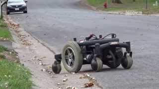 Super Heavy Duty RC car converted from Power Wheelchair