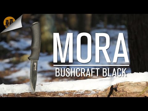 Mora Bushcraft Black Knife Review