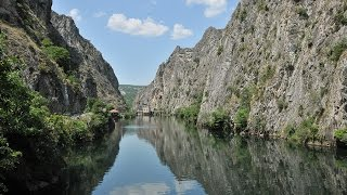 Matka Canyon at Skopje - Travel to Macedonia