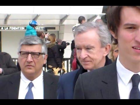 Bernard ARNAULT @ Paris 11 mars 2015 Fashion Week défilé Vuitton