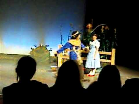 "Wizard of Oz Dress Rehearsal ""If I Only Had A Brain"" Kettle Moraine Lutheran High School"