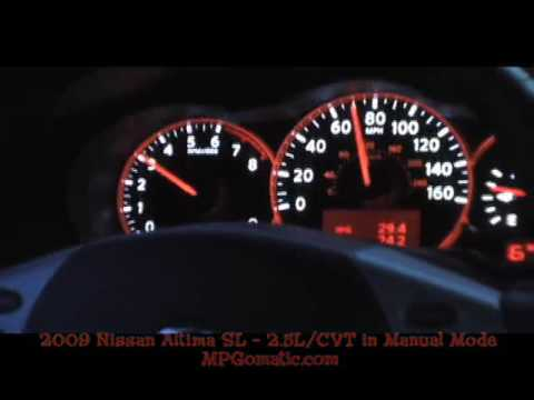 2009 Nissan Altima 0-60 MPH Video