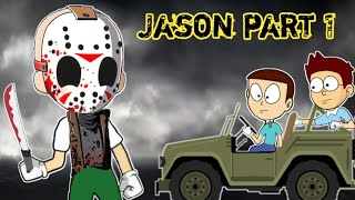 Jason - Horror story Part 1 - Animated stories | Animation in Hindi | Make Horror video