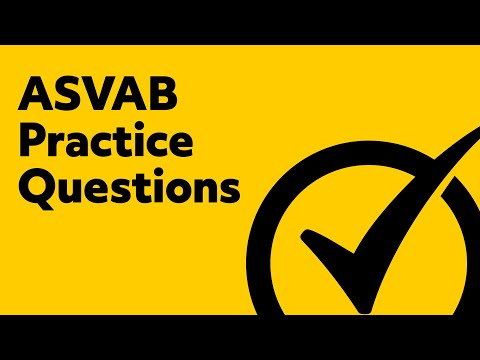 ASVAB Practice Questions - Free ASVAB Math Tips