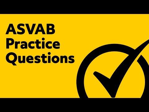 ASVAB Practice Questions - Free ASVAB Math Tips
