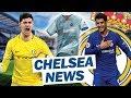 Courtois COMMENTS On Chelsea! Morata RETURN To Madrid? New Away 3rd Kit (Chelsea New)