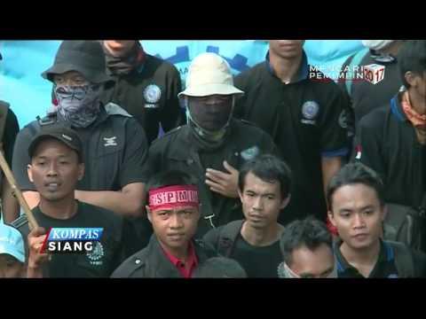 Unjuk Rasa Hari Buruh di Jakarta