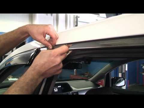 Episode #195 - 2011+ Honda Odyssey Door Visor Installation
