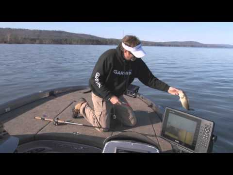 WADE FISHING LAKE GUNTERSVILLE WITH GARMIN PROS