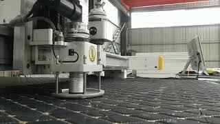 Car Interiors Digital Cutting Machine Car floor mat digital cutter Car leather cover cutter