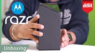 Moto Razr Unboxing - The Box Is As Cool As The Phone!