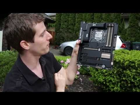 ASUS Sabertooth Z87 TUF Series Motherboard Unboxing & Overview