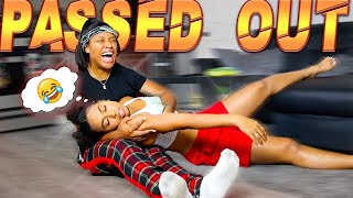 PASSED OUT prank on My BEST FRIEND *EMOTIONAL*
