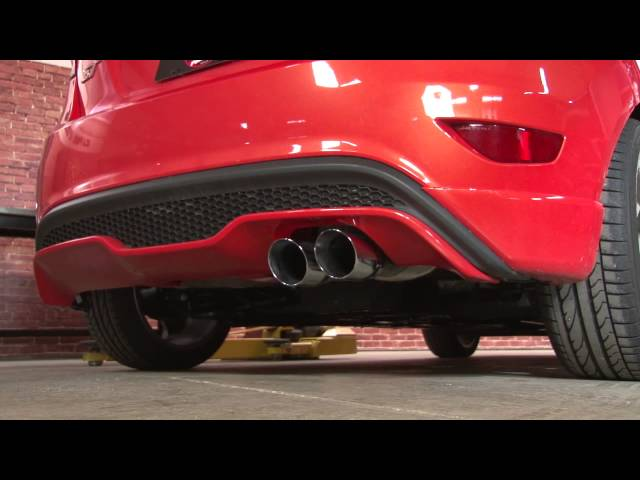 Fiesta ST MagnaFlow Cat-back Exhaust System 2014