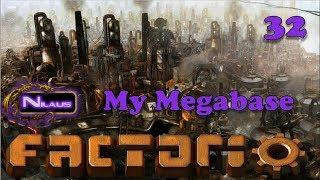 Factorio - My Megabase E32 - Trains setup for Factory