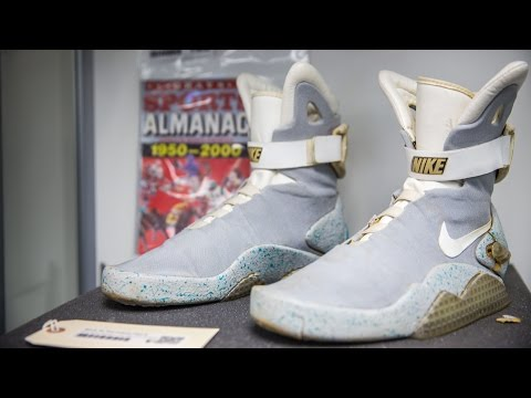 """Original Nike Air MAG From """"Back To The Future II"""" Still Exist"""