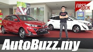 2019 Toyota Yaris First Look - AutoBuzz.my