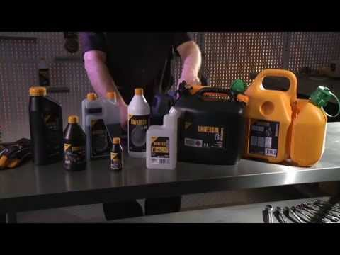 How to - Mix 2 stroke oil and fuel for your chainsaw.