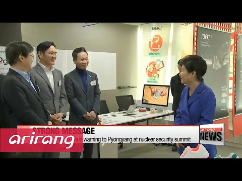 President Park to send strong message to Pyongyang at nuclear security summit