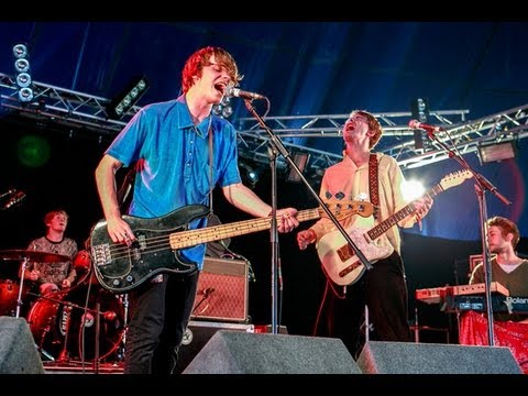 Backstage With Django Django, Miles Kane, Palma Violets And Peace On The NME Awards Tour 2013
