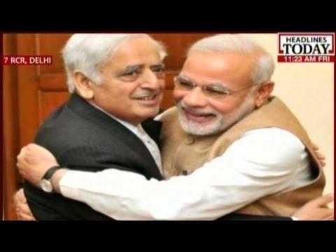 Jammu Kashmir Government: Landmark PDP-BJP Deal Sealed