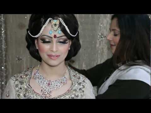 Asian Bridal Wedding Makeup Tutorial Mughal style by Mus