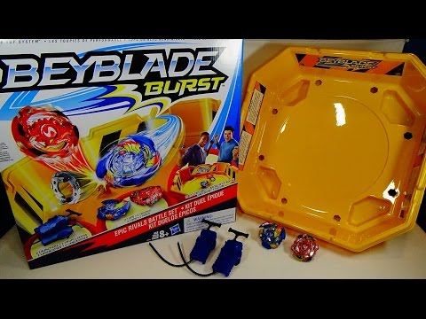 Beyblade Burst by Hasbro - EPIC RIVALS BATTLE SET Unboxing & Review