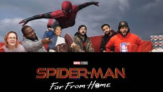 Spiderman: Far From Home  - Offical Trailer - Group Reaction!