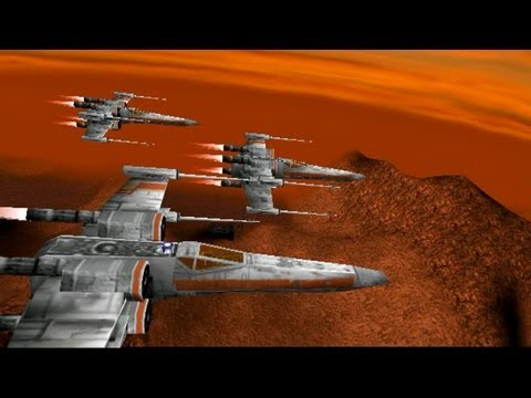 Star Wars Rogue Squadron mission 9 Rescue on Kessel X Wing