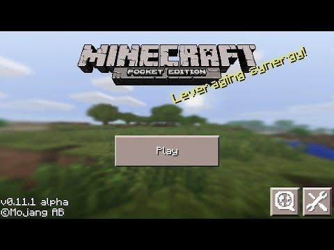 [Minecraft PE] : วิธีเข้าเซิฟออนไลน์/รีวิวระบบเกม