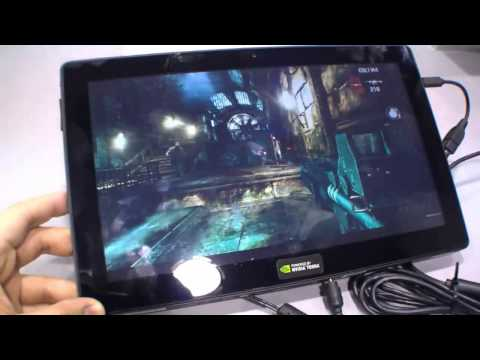 First NVIDIA Tegra 4 Tablet with Gaming Demo