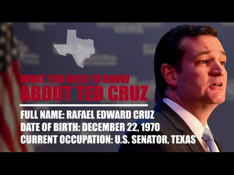 What You Need To Know About Ted Cruz
