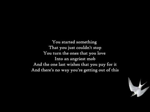 Shinedown - Enemies [Lyrics] HD