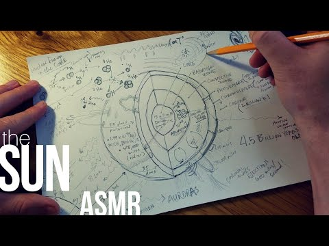 Drawing our Star: The Sun | ASMR [soft-spoken, space, science]