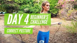 JUMP FIT FREE BEGINNERS CHALLENGE DAY 4 CORRECT POSTURE