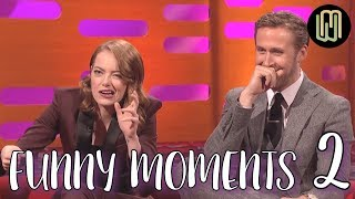 Ryan Gosling and Emma Stone Funny Moments PART 2