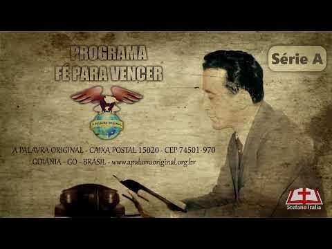 """Programa """"Fé para vencer"""" – Pr. Joaquim Gonçalves Silva (CD 142-01)"""