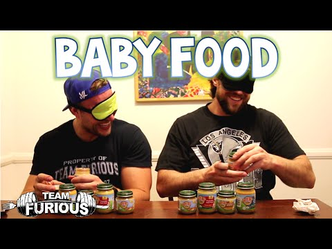 Blindfolded Baby Food Challenge W  L.a. Beast | Furious Pete video