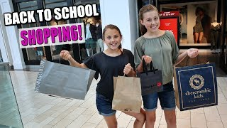 Teen Back To School Shopping!