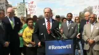 Congressman Dan Kildee Holds Press Conference on Extending Unemployment Benefits