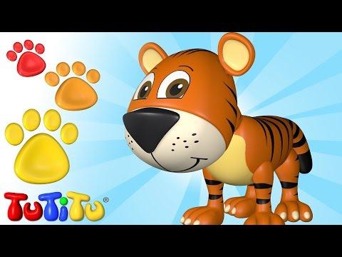 TuTiTu Deutsch | Tiere Auf Deutsch – Der Tiger Und Andere Tiere