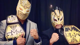Kalisto and Hunico Sin Cara (Lucha Dragons) -Fight Forever