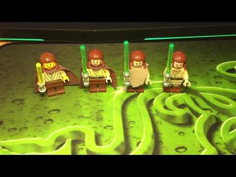 Рубрика Сравнения: Lego Star Wars Квай-Гон Джинн Minifigures Review