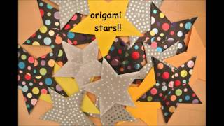 Origami Pentagonal Stars - Final Product