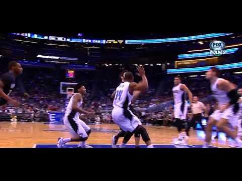Ricky Rubio ankle injury vs. Orlando Magic