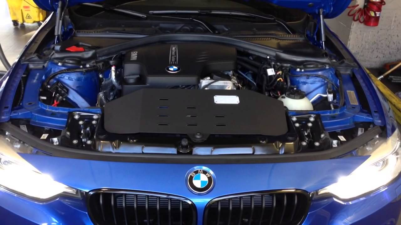 Bmw F30 328i Injen Intake Youtube