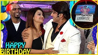 Karanvir Bohra Gets Birthday Surprise from Adaa Khan Surprise