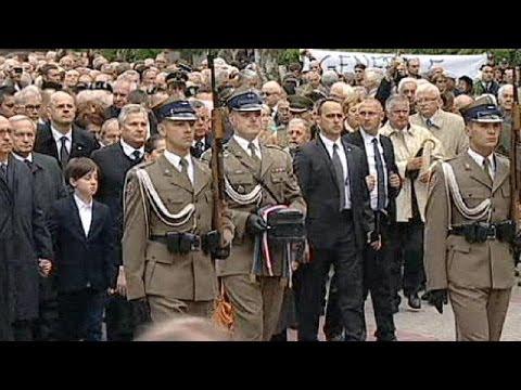 Former Communist leader Jaruzelski buried in Poland amidst small protests
