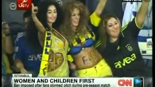 Turkish female football fans :))